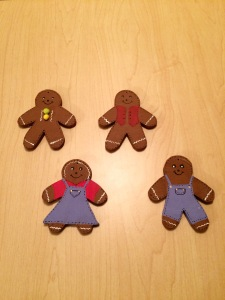 gingerbreadman, christmas, christmas ornament