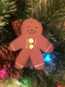 gingerbread man, christmas, christmas ornament, ornament gingerbread