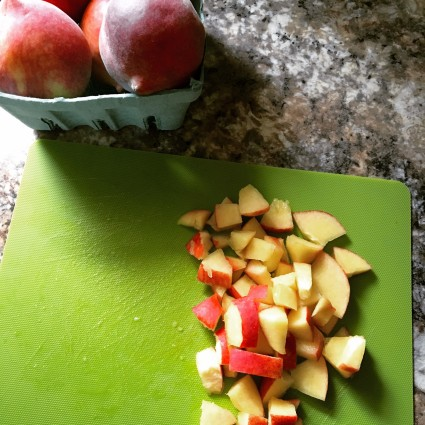 Chopped Peaches