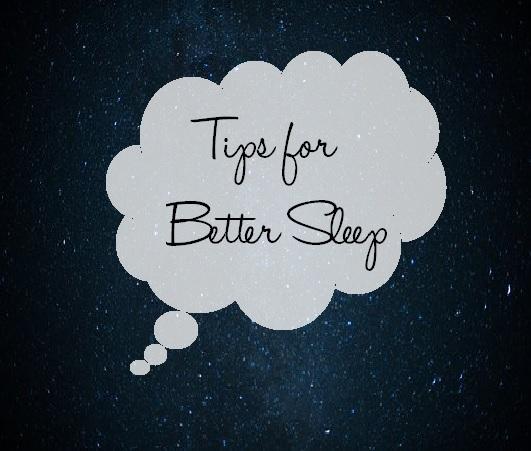 Tips for better sleep post
