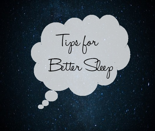 Tips for better sleep post
