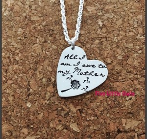 heart necklace fo rmom