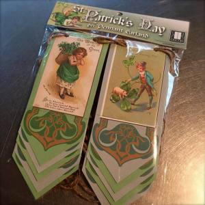 Vintage St Patrick's Day Banner